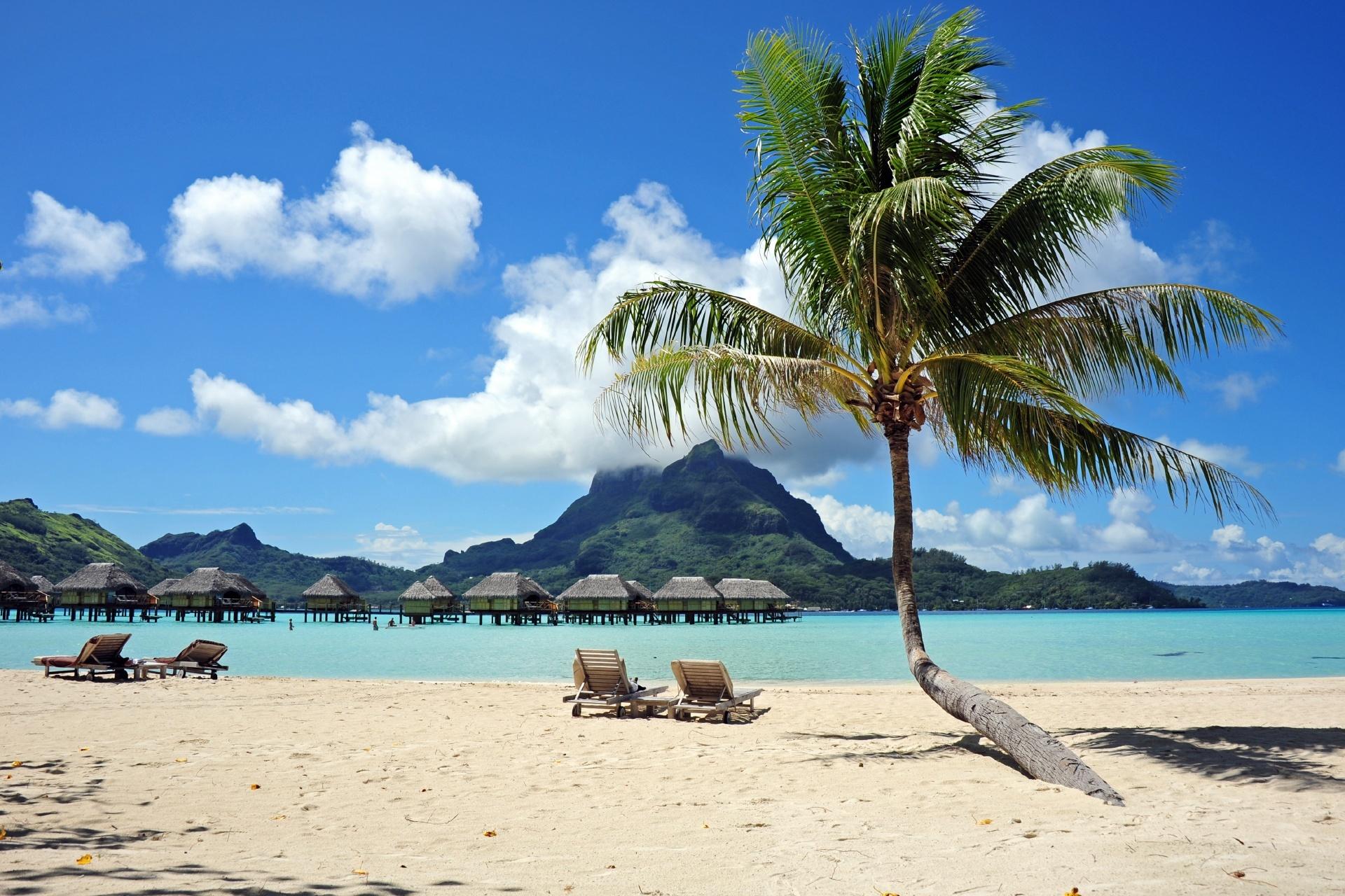 ボラボラ島の風景