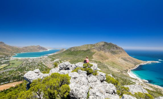 ホウト湾の風景 南アフリカの風景