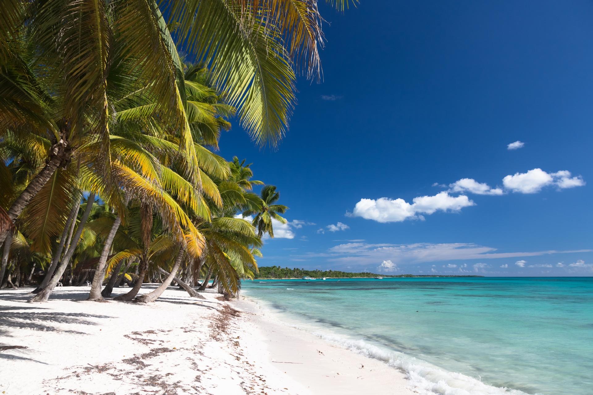 サオナ島の風景 ドミニカ共和国の風景