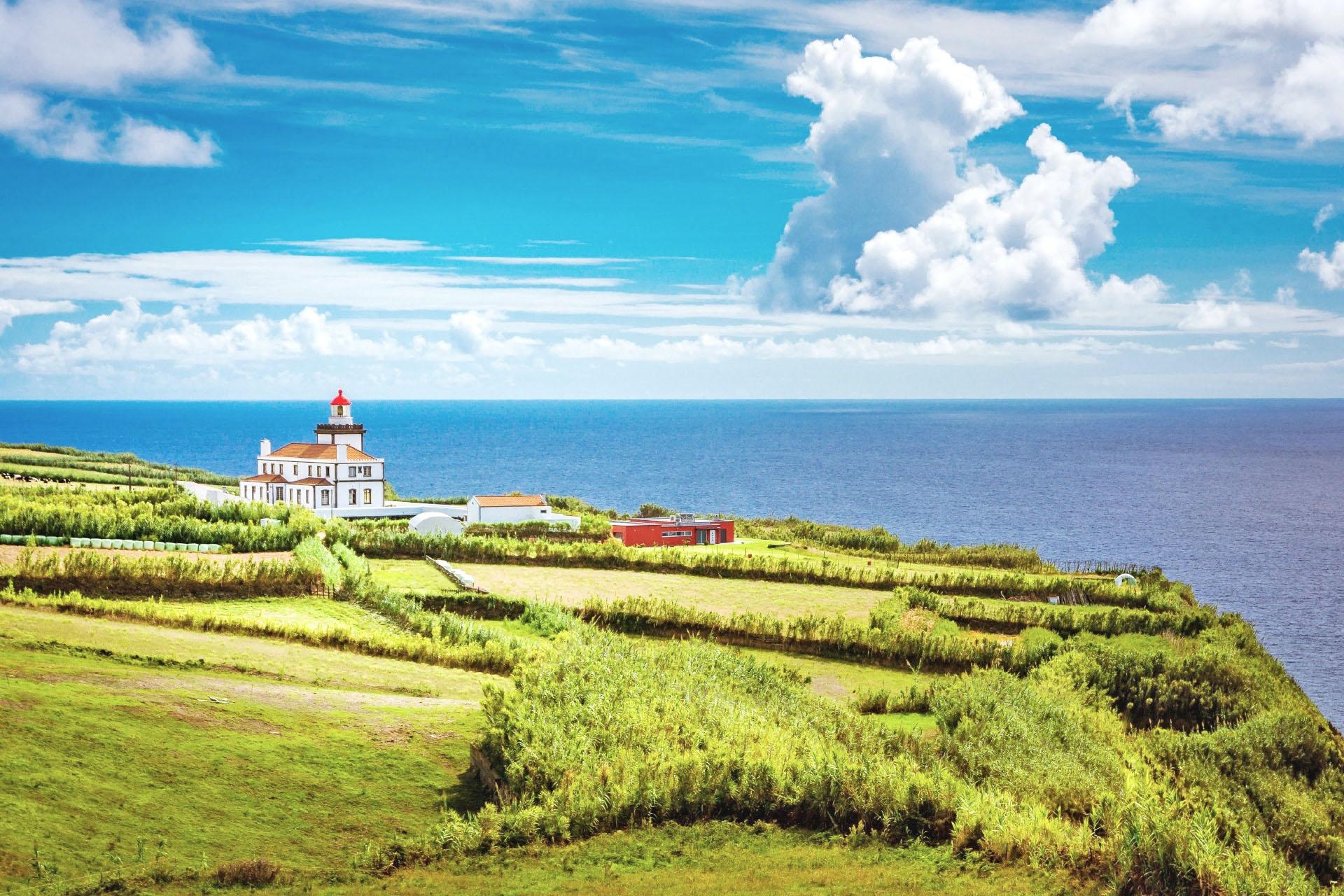 アゾレス諸島の風景 ポルトガルの風景