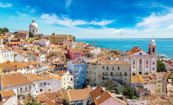 リスボンの町並み ポルトガルの風景