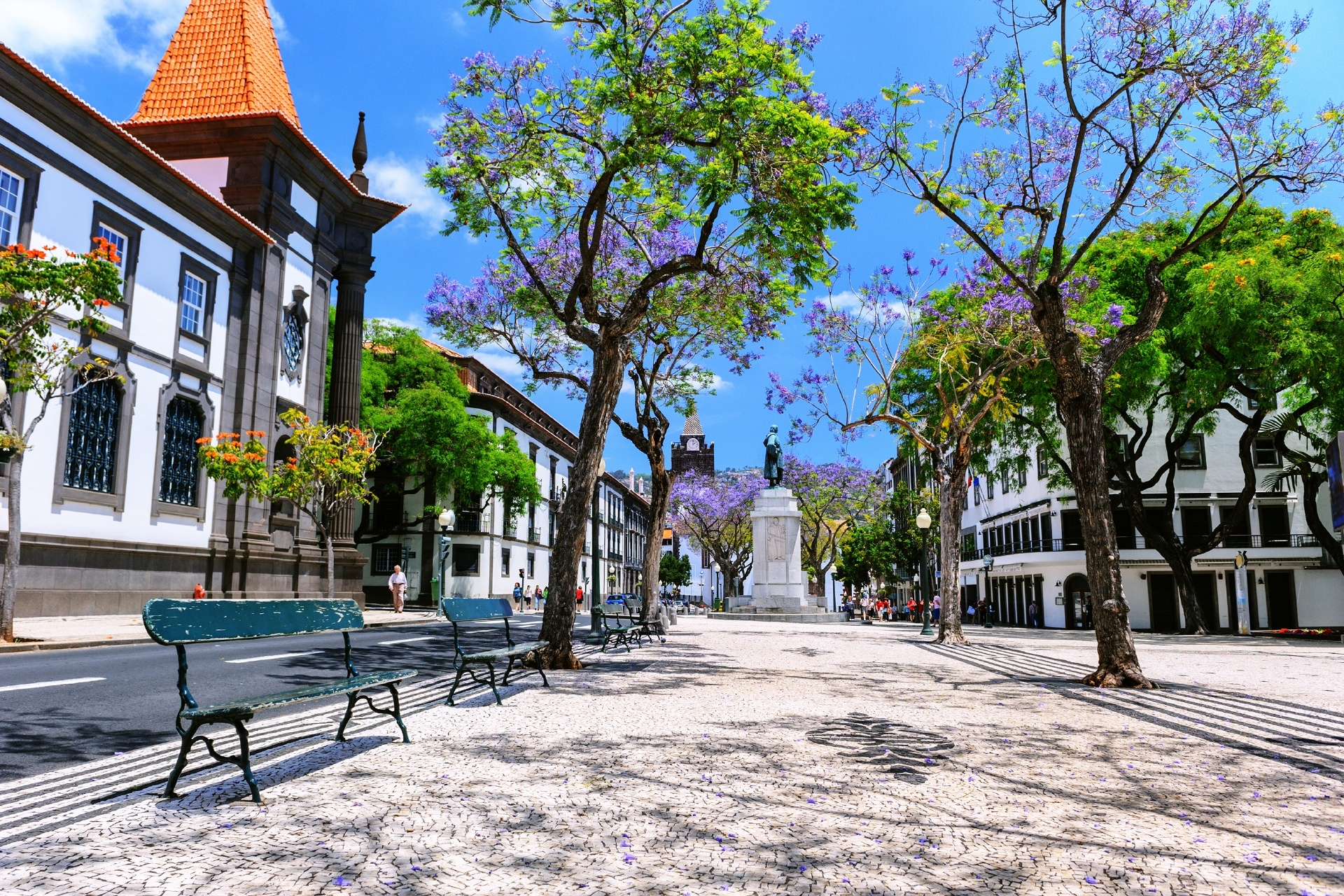 フンシャルの町並み ポルトガルの風景