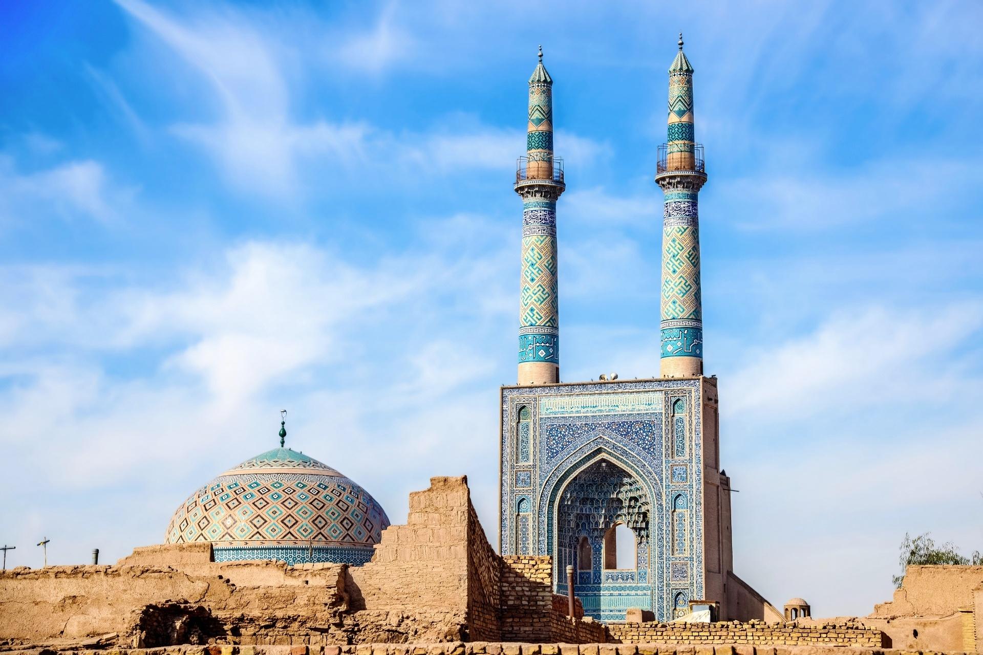 ヤズドのモスク イランの風景