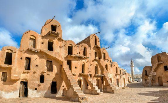 クサール・ウレド・スルタン史跡 チュニジアの風景