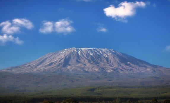 キリマンジャロの風景 タンザニアの風景