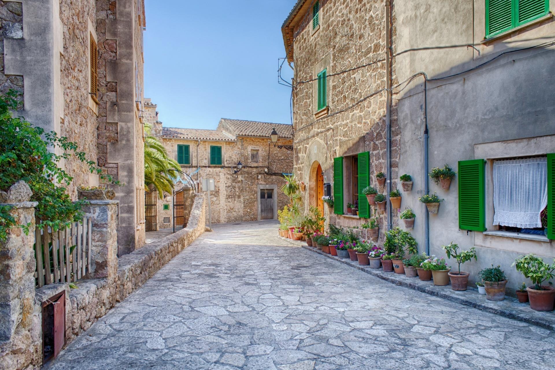 バルデモサの風景 マヨルカ島 スペインの風景