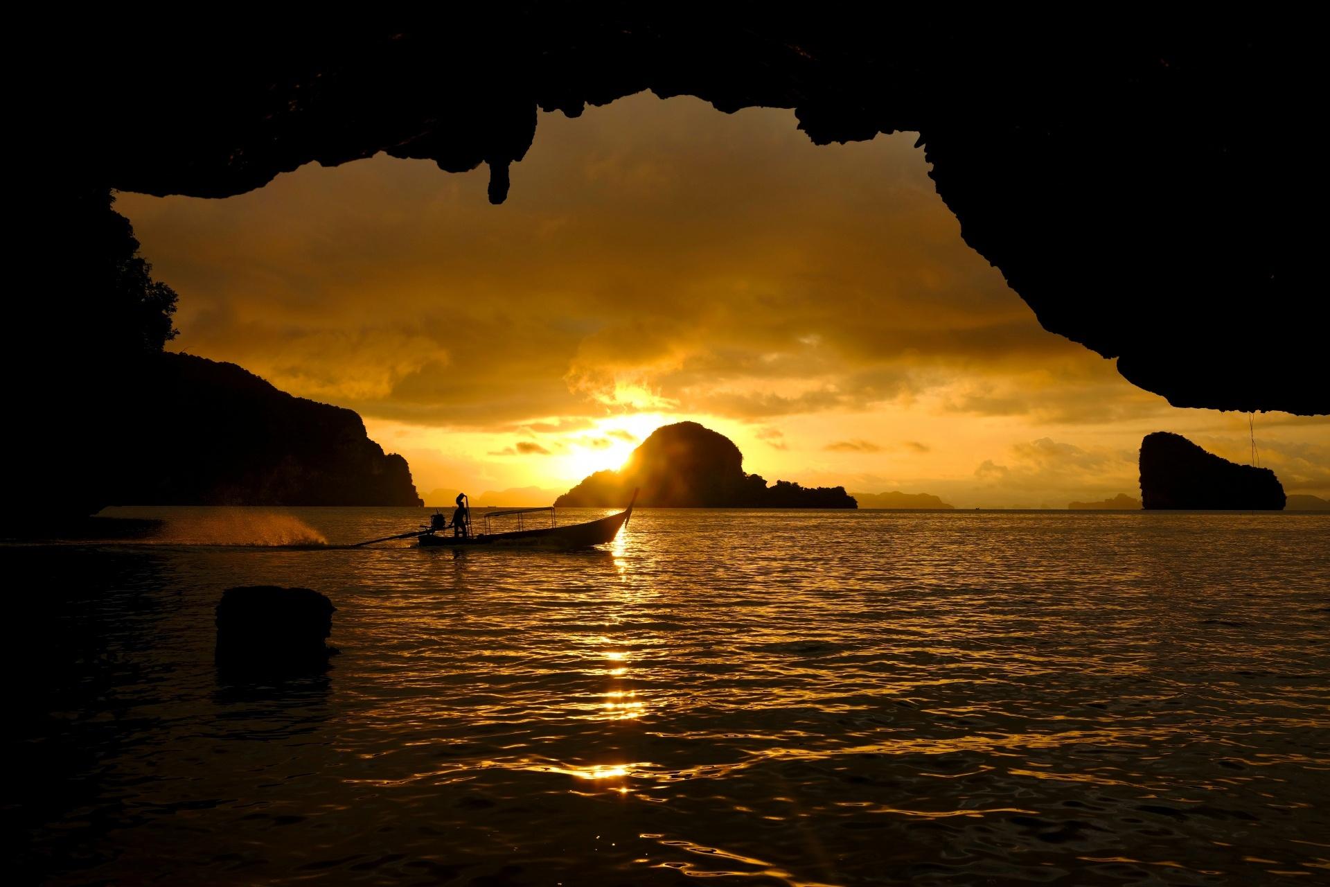 パナック島の風景 タイの風景