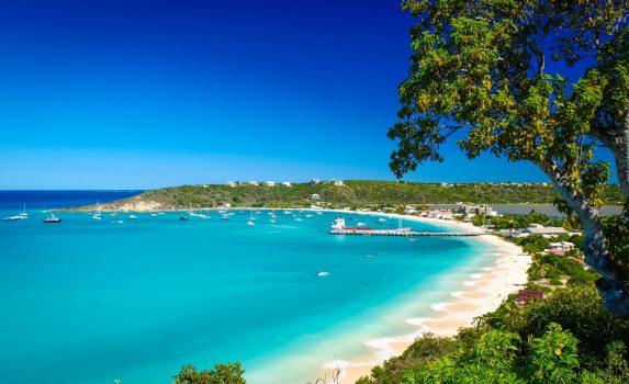 カリブ海の風景 アンギラの風景