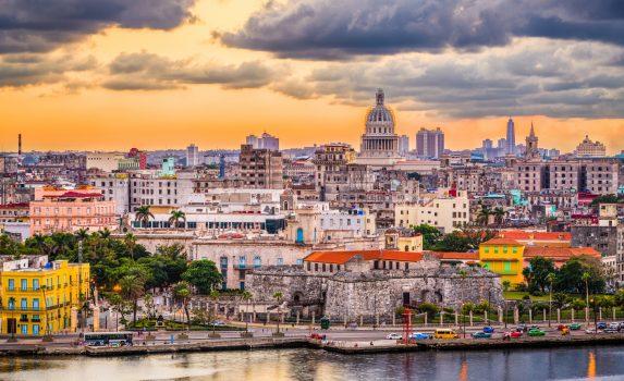 夕暮れのハバナ キューバの風景