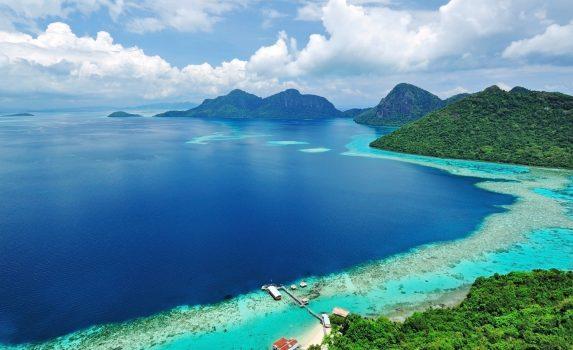 センポルナの美しい風景 マレーシアの風景
