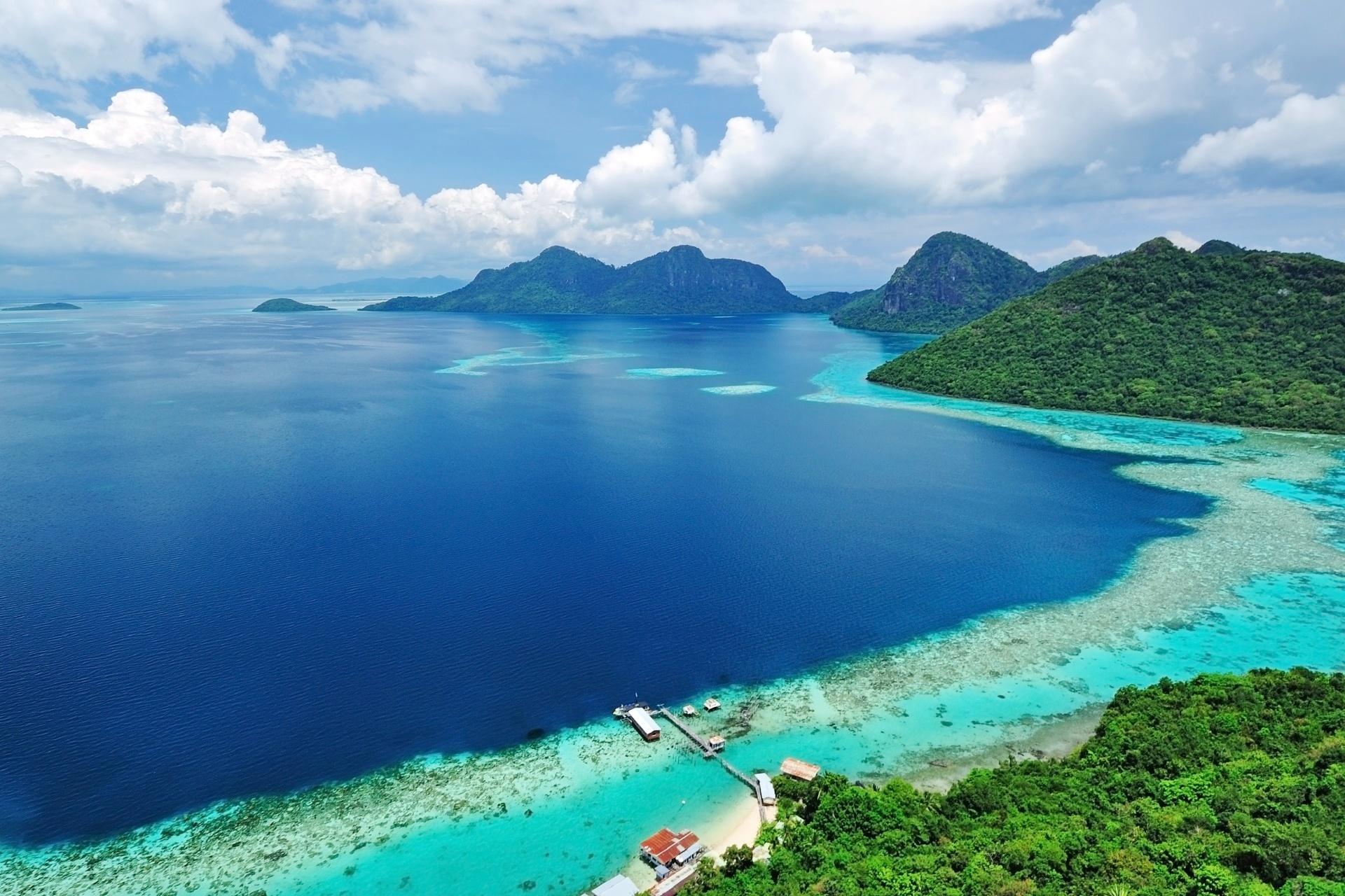 トゥンサカラン海洋公園 マレーシアの風景