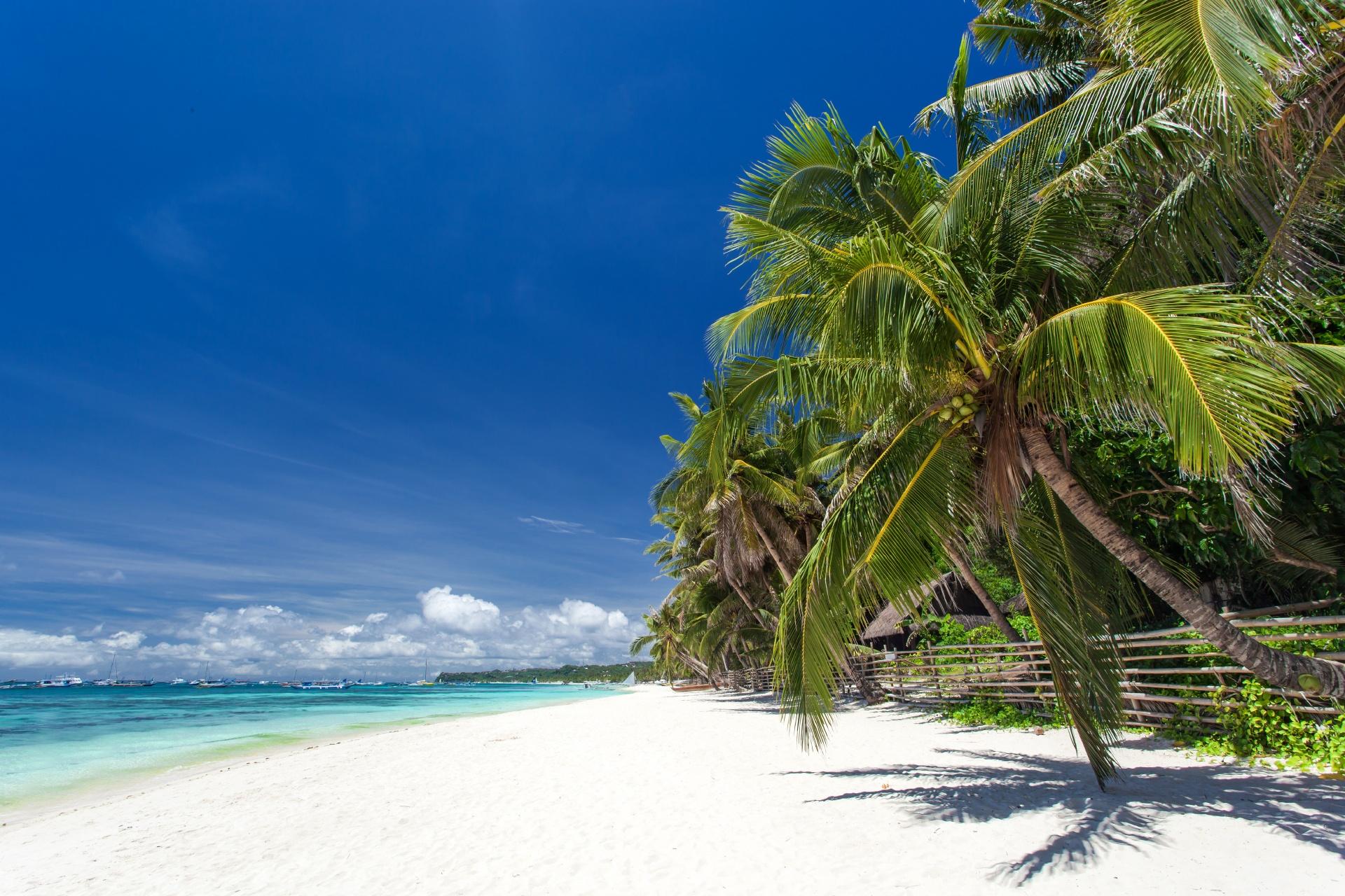 ボラカイ島の風景 フィリピンの風景