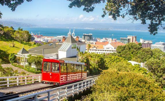 ウェリントンの風景 ニュージーランドの風景