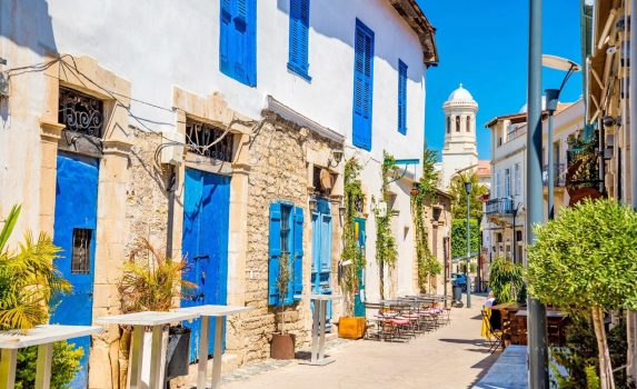 路地の風景 キプロスの風景