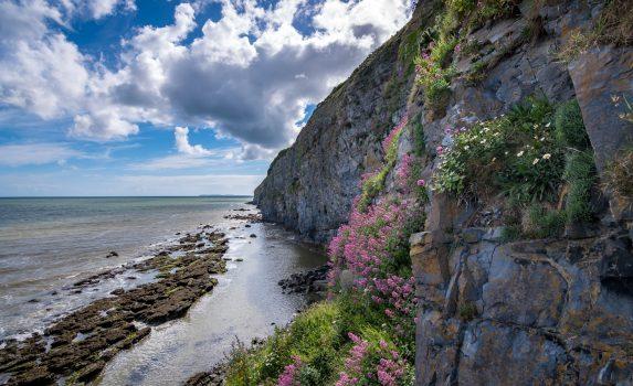 ペンディン・ビーチ ウェールズの風景