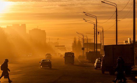 チェリャビンスクの風景 ロシアの風景