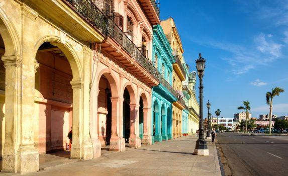 ハバナの風景 キューバの風景
