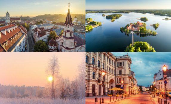 リトアニアの風景