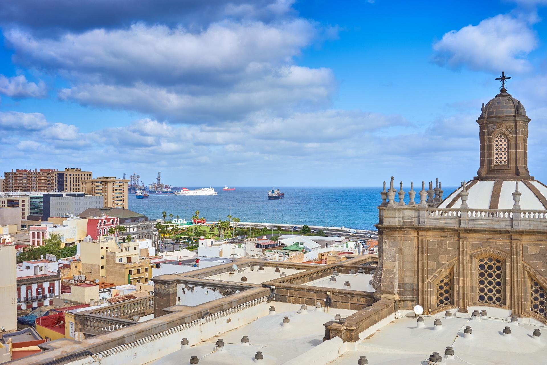 ラス・パルマスの風景 スペインの風景