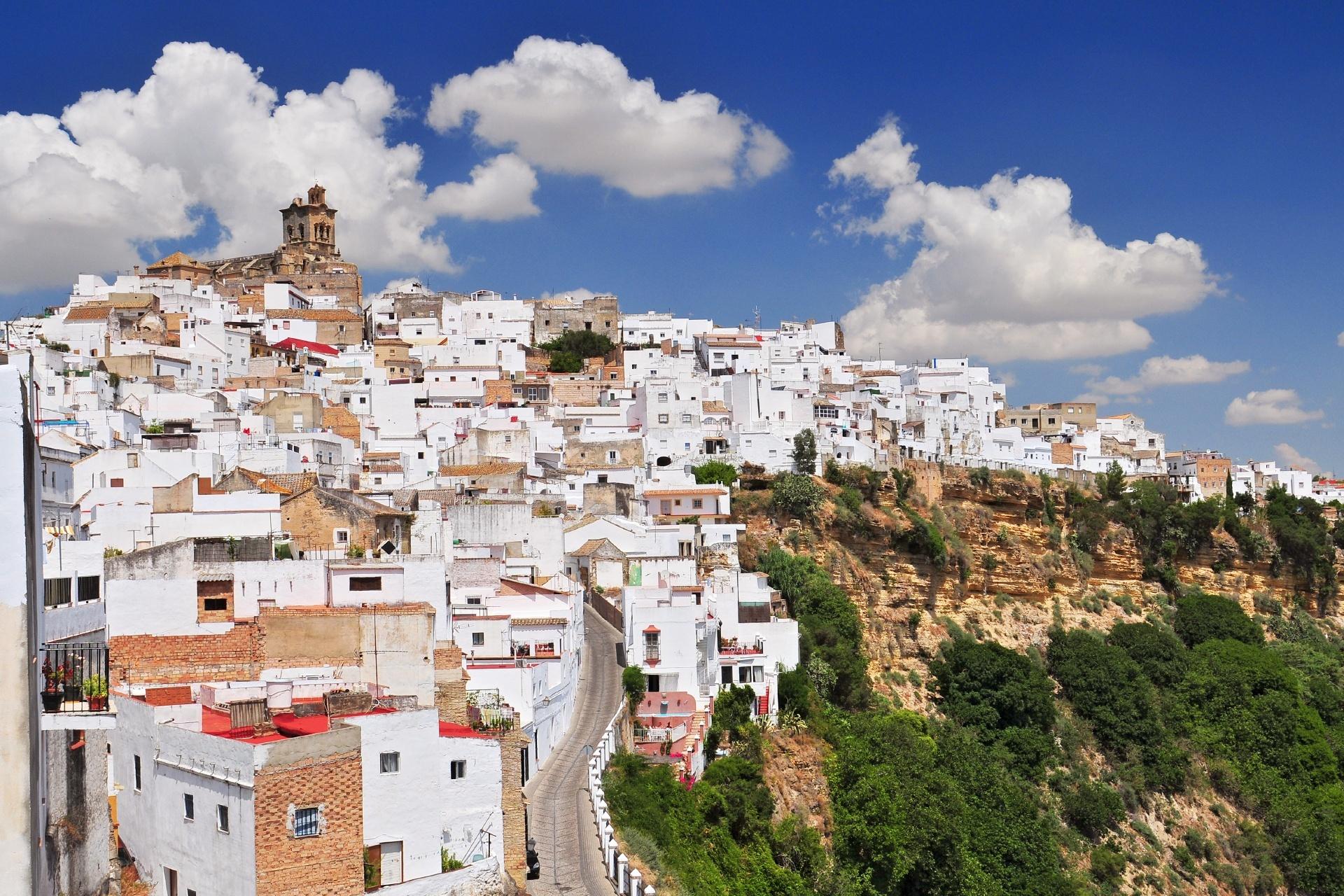 アルコス・デ・ラ・フロンテーラの風景 スペインの風景
