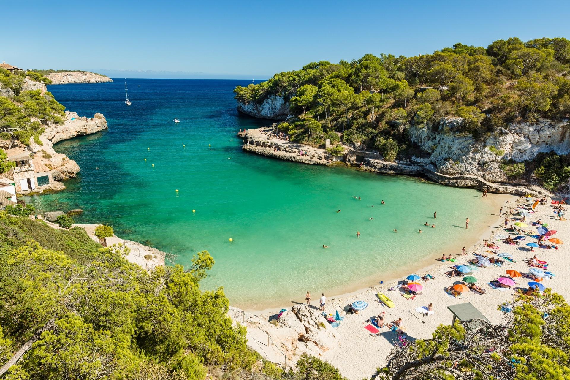 マヨルカ島の風景 スペインの風景