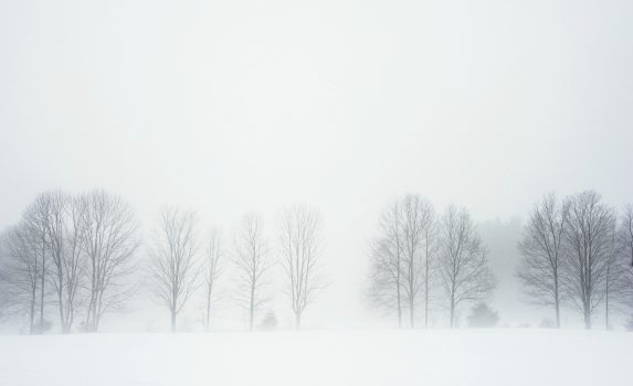 冬のニューハンプシャーの風景 アメリカの風景