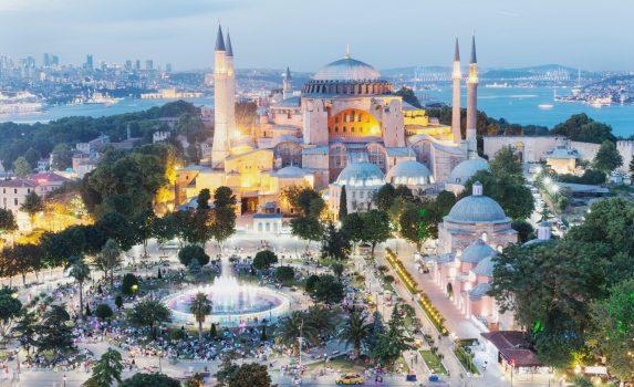 アヤソフィア トルコの風景