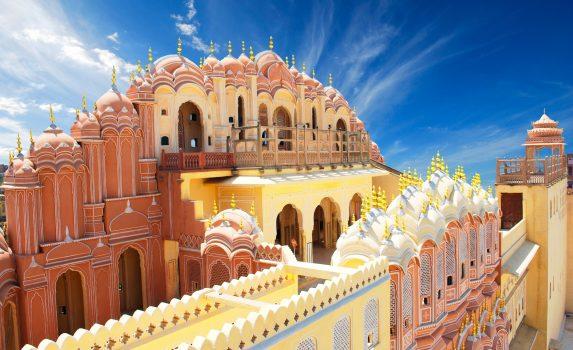 「風の宮殿」ハワー・マハル インドの風景
