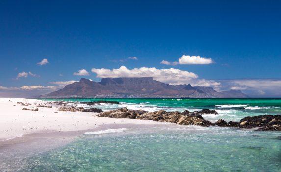 夏のケープタウン 南アフリカの風景