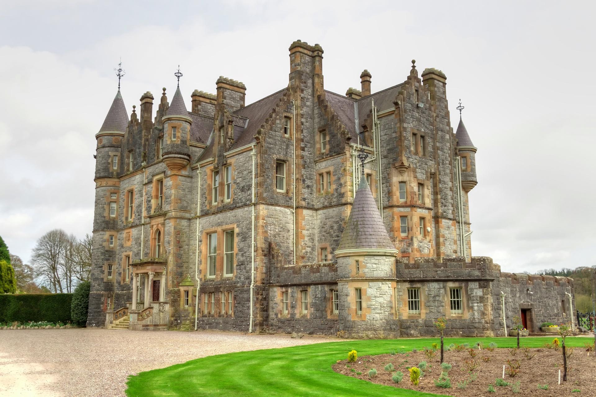 ブラーニーハウス アイルランドの風景