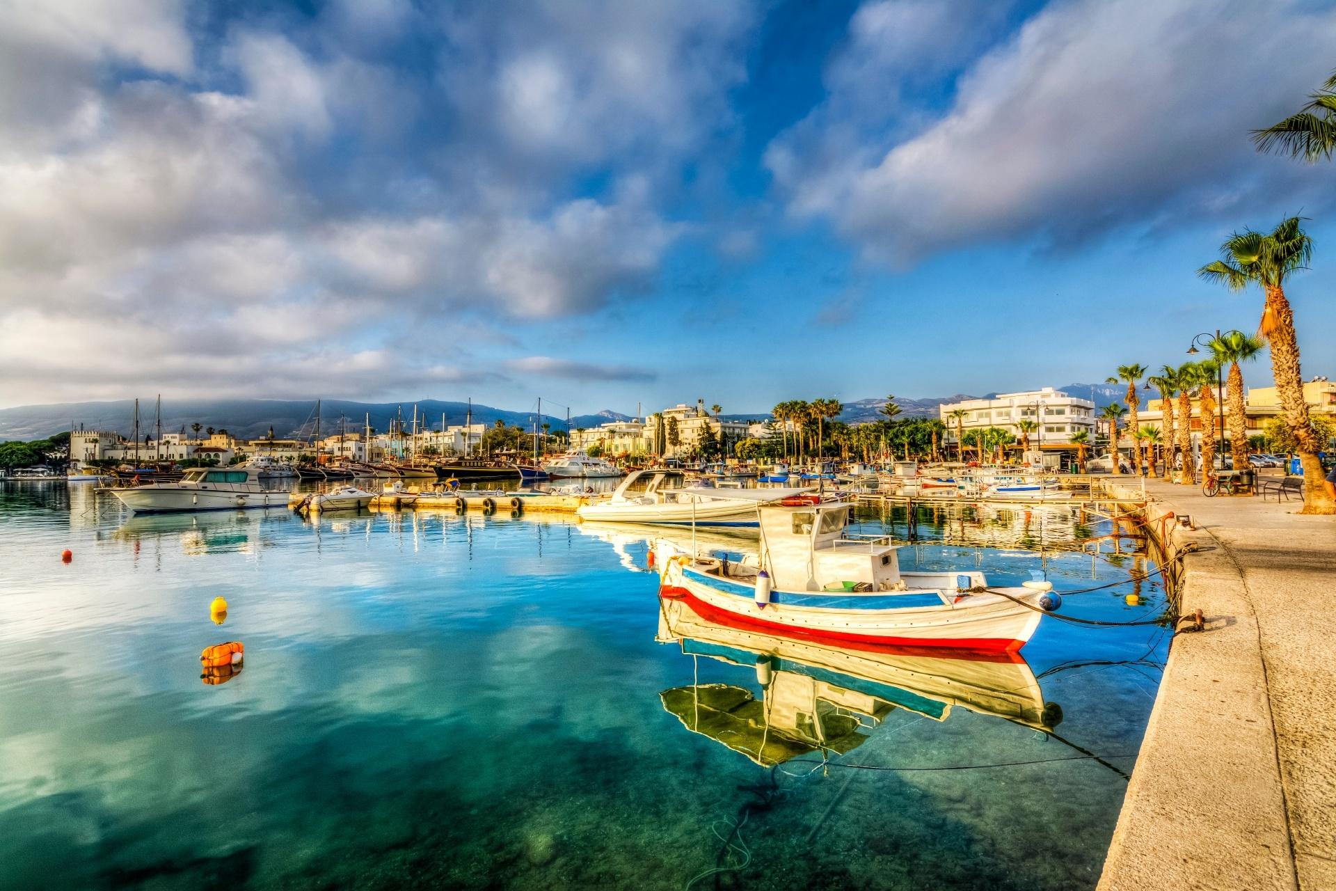 コス島の風景 ギリシャの風景