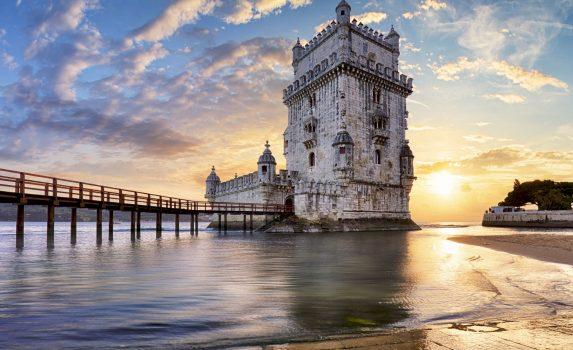 ベレンの塔 リスボン ポルトガルの風景