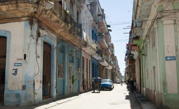 ハバナ・ビエハの路地裏 キューバの風景