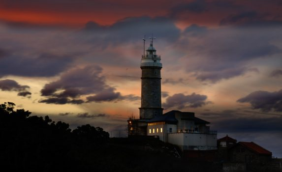 カボ・マヨール灯台 スペインの風景