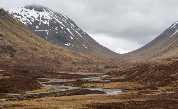 グレンコーの風景 スコットランドの風景
