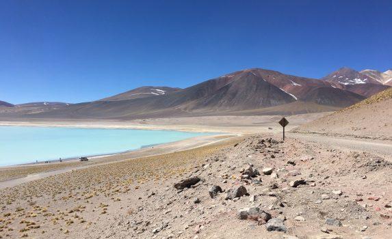 アタカマ砂漠の風景 チリの風景