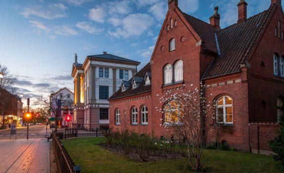 オーゼンセの風景 デンマークの風景