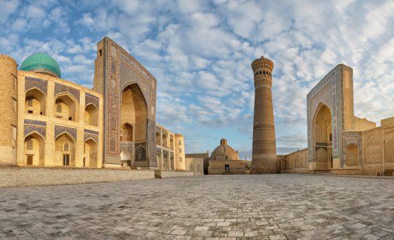 カラーン・ミナレット ブハラの風景 ウズベキスタンの風景