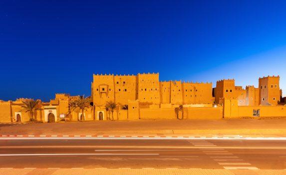 ワルザザートの風景 モロッコの風景