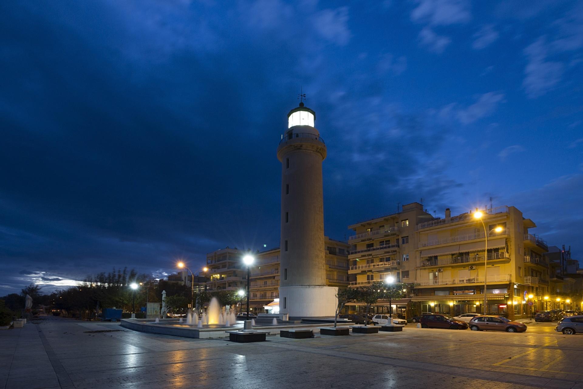 アレクサンドルーポリの灯台 ギリシャの風景