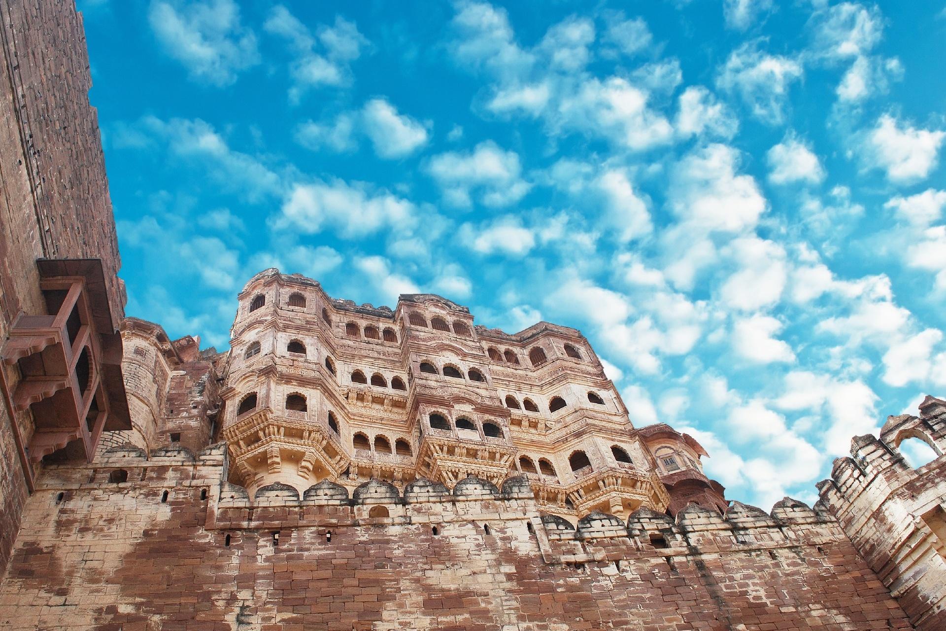 メヘランガール城塞の風景 インドの風景