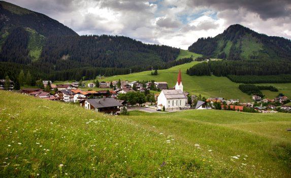 ベルヴァングの風景 オーストリアの風景