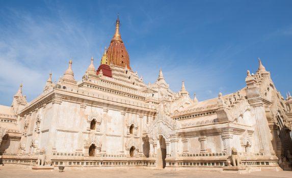 アーナンダ寺院 バガンの風景 ミャンマーの風景