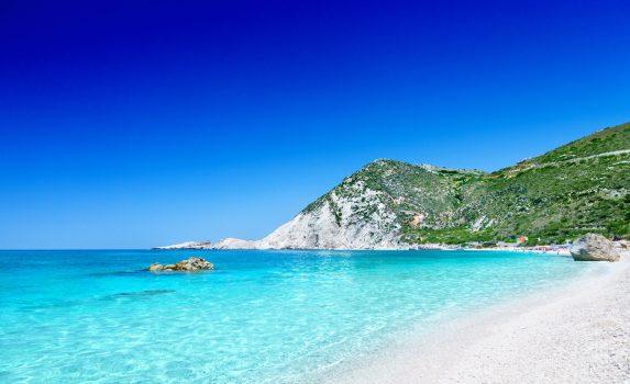 ペタニビーチの風景 ギリシャの風景