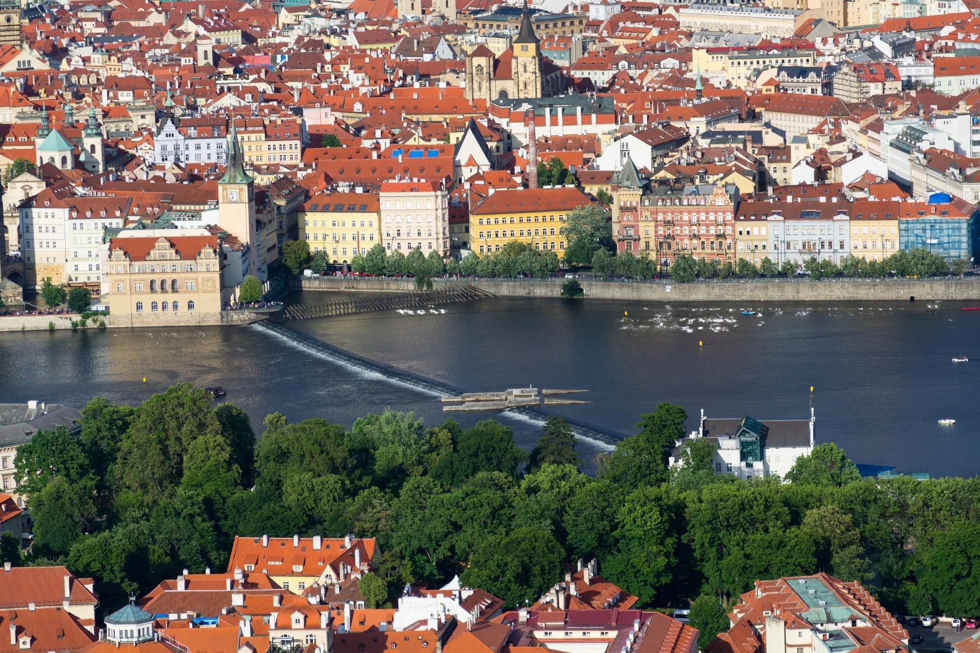 プラハの風景 チェコの風景