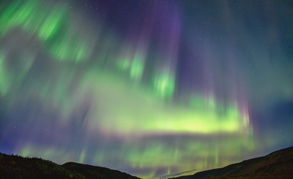アラスカのオーロラ アメリカの風景