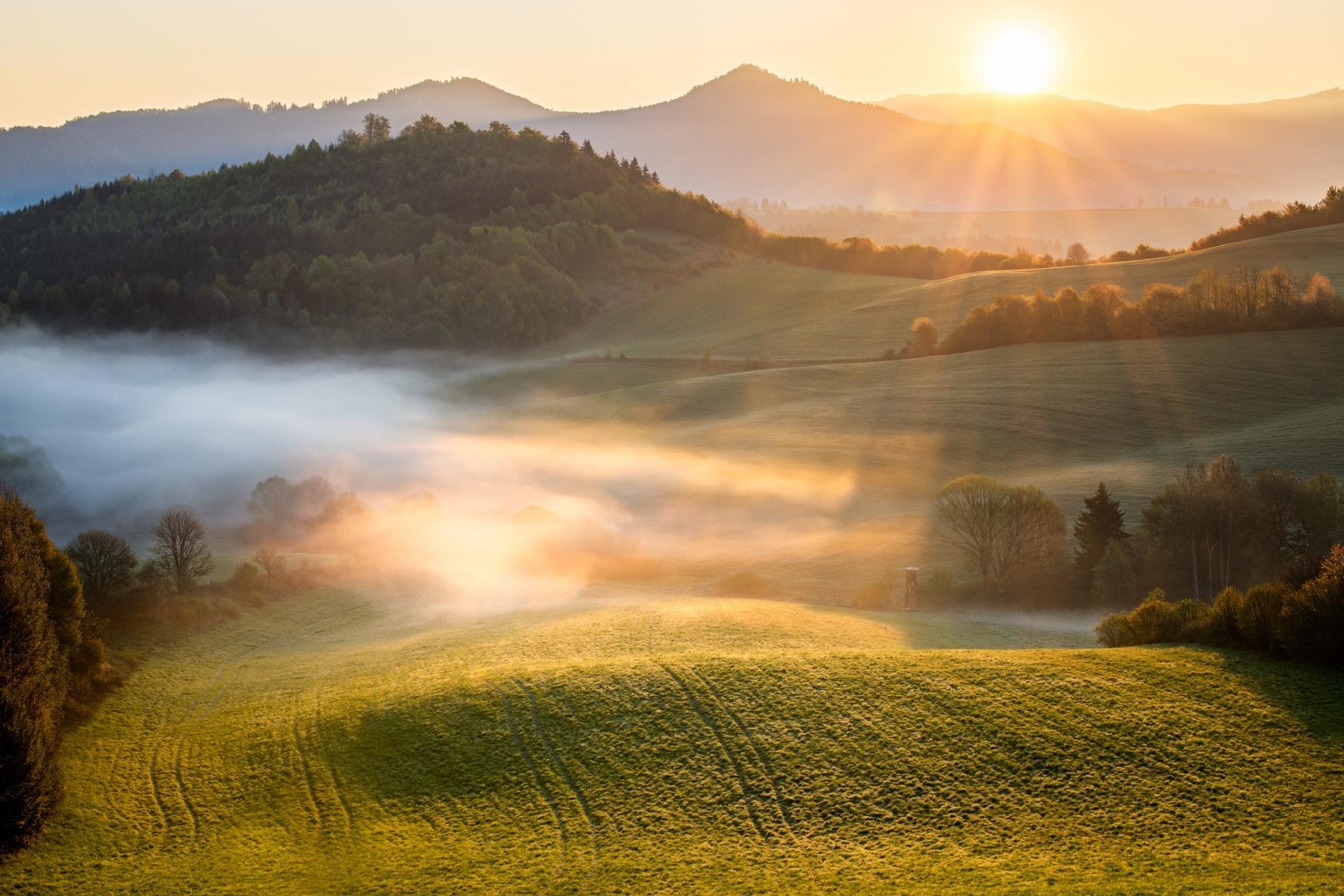 ポニツカ・フタの風景 スロバキアの風景