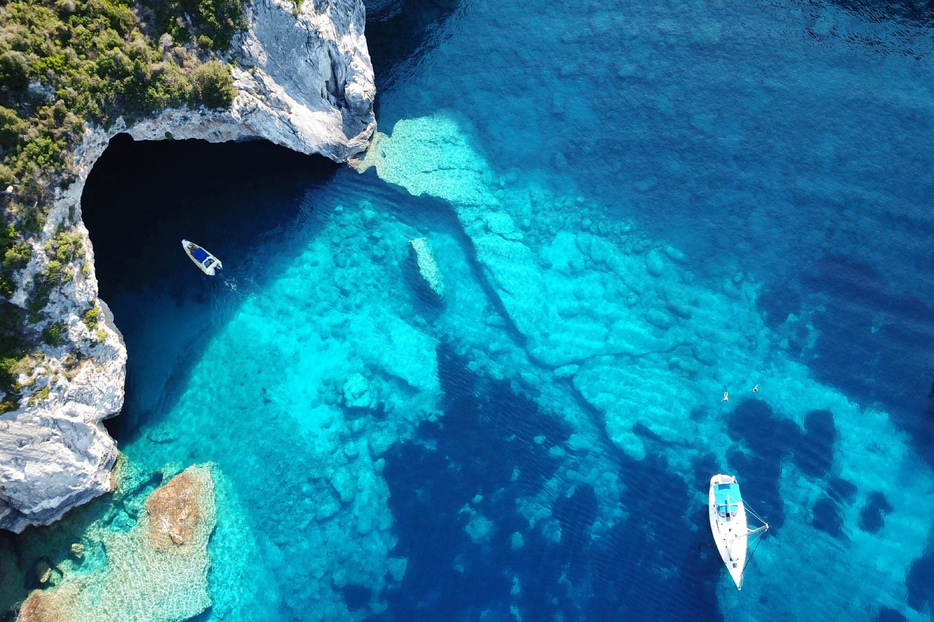 カリブ海の風景