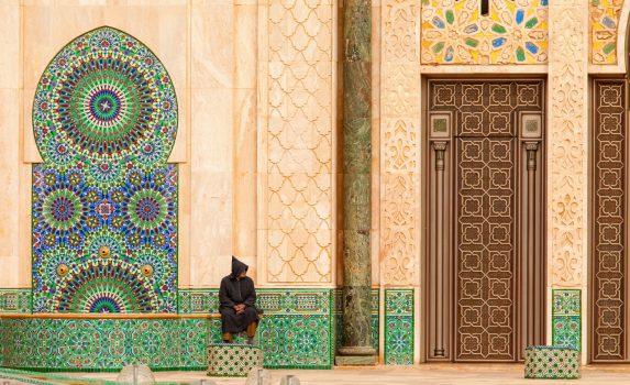 ハッサン2世モスク モロッコの風景