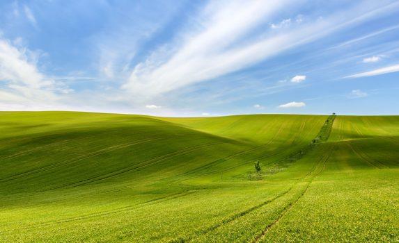 モラヴィア地方の風景 チェコの風景
